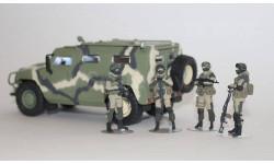 Фигурки 1:43 Солдаты Российской Армии. 4шт., фигурка, OPUS studio, 1/43