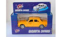 Волга-31105 Такси Технопарк, масштабная модель, scale43, ГАЗ