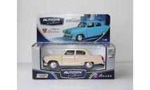 AUTOTIME collection Волга ГАЗ-21 Бежевая., масштабная модель, 1:43, 1/43