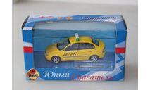 Ваз 1118 Калина. Такси. Cararama 1:43, масштабная модель, Bauer/Cararama/Hongwell, scale43