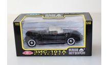 ЗИС 101А Спорт закр.верх (Чёрный ) Наш Автопром  1:43, масштабная модель, scale43