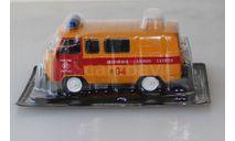 Автомобиль на Службе №4 - УАЗ-3909 Аварийная Газовая служба 1:43, масштабная модель, Deagostini, scale43