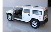 Hummer H2 SUV 2008 1:40, масштабная модель, KINSMART, scale0