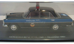 MERCEDES-BENZ W108 ГАИ г.Ленинград 1980г., масштабная модель, Spark, 1:43, 1/43