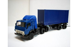 Камаз 5410 контейнеровоз, синий (Элекон)