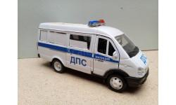 1/43 Автотайм/Велли ГАЗель 3221 автобус ДПС (Autotime/Welly)