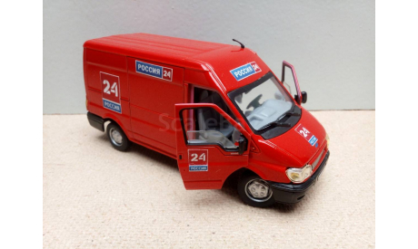 1/43 Cararama Ford Transit VAN (Hongwell/Хонгвелл/Карарама) ранний, масштабная модель, Bauer/Cararama/Hongwell, scale43