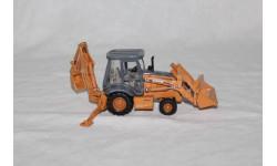 CASE 580 Экскаватор-погрузчик 1/50, масштабная модель трактора, scale50, ERTL