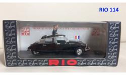 Citroen DS 19 'DE GAULLE'   RIO  1/43, масштабная модель, Citroën, scale43