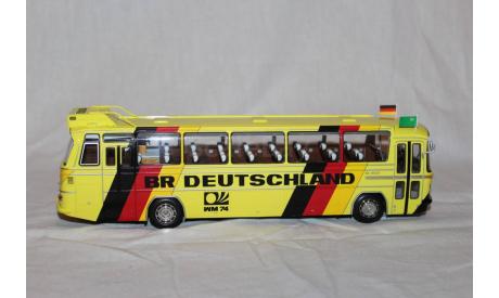 Mercedes  О 302  WM74  «Team BR Deutschland»  Minichamps 1/43, масштабная модель, scale43, Mercedes-Benz