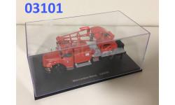 Mercedes L 6600 Feuerwehr mit Kran