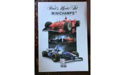 Каталог  MINICHAMPS     1998 EDITION 1