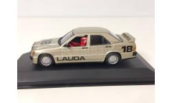 Mercedes 190 E LAUDA Minichamps 1:43