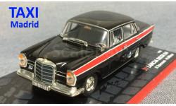 Mercedes Benz TAXI 220 SE Мадрид 1/43