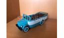 Sl055 Курортный открытый автобус КАВЗ-651, 1966г., масштабная модель, СарЛаб, 1:43, 1/43