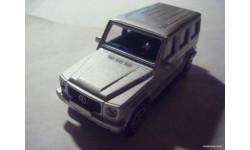 (221)  1:43  Mercedes - Benz G - Class серебро