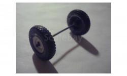 (106)  Колесо + ось от УАЗ 452 АГАТ
