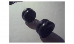 (112)   1:43 Колесо + ось от МАЗ 503 задние