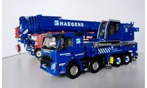 1/50 кран Liebherr 1060-4.1 Volvo Haegens, масштабная модель, WSI, scale50