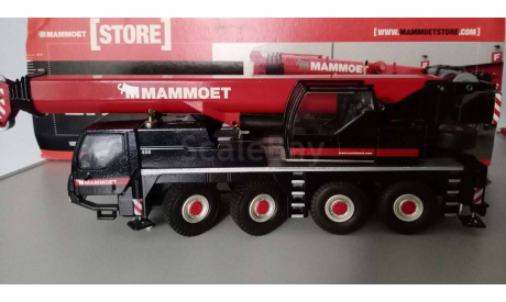 1/50 кран Liebherr 1070 Mammoet редкий, масштабная модель трактора, scale50