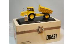 1/50 самосвал Volvo DR 631 грузовик 1:50 оч.редкий деревянный подарочный бокс, масштабная модель