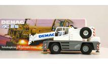 1/50 кран Demag AC 25 автокран 1:50, масштабная модель трактора, Conrad, scale50