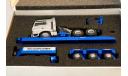 1/50 тягач MAN трал полуприцеп низкорамник комплект, масштабная модель, Conrad, 1:50