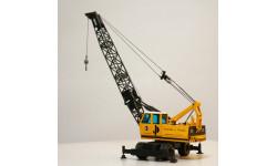 1/50 кран Sennebogen автокран 1:50 раритет, масштабная модель трактора, Conrad