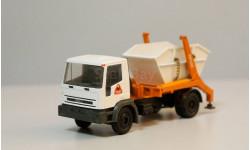 1/50 самосвал Iveco 4х2 грузовик контейнер, масштабная модель, Conrad, 1:50
