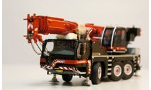1/50 кран Liebherr 1050-3.1 Mammoet редкий, масштабная модель трактора, WSI, 1:50