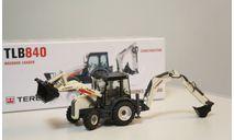 1/50 экскаватор Terex 840 погрузчик 1:50, масштабная модель трактора, NZG, scale50