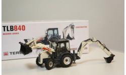 1/50 экскаватор Terex 840 погрузчик 1:50, масштабная модель трактора, NZG
