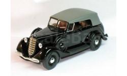 ГАЗ-М 1 фаэтон с тентом(черный), масштабная модель, 1:43, 1/43, Наш Автопром