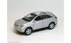 LEXUS RX 450H (серебристый), масштабная модель, 1:30, 1/30, Welly