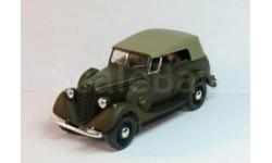 Масштабная модель ГАЗ 61-40 с тентом(коричнево-зелёный матовый), масштабная модель, 1:43, 1/43, Наш Автопром