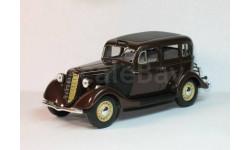Масштабная модель ГАЗ-М-1 такси(коричневый), масштабная модель, 1:43, 1/43, Наш Автопром