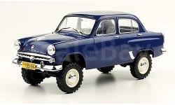 1/24 Москвич-410 Советские автомобили №47, журнальная серия масштабных моделей, Hachette, scale24