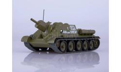Масштабная модель СУ-122 'НАШИ ТАНКИ' №7, масштабные модели бронетехники, MODIMIO COLLECTIONS, scale43