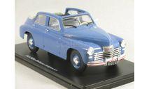 ГАЗ-М20 Победа 1/24 Легендарные советские автомобили #27, масштабная модель, Hachette, scale24