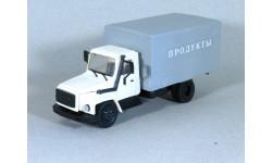 1/43 Горький-3309 ПРОДУКТЫ белый/серый, масштабная модель, 1:43, Компаньон