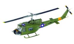 Военные Вертолеты №3 - UH-1 Iroquois (США), журнальная серия масштабных моделей, DeAgostini (военная серия), 1:72, 1/72