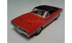 Dodge Charger  1969г. (Matchbox), масштабная модель, scale43