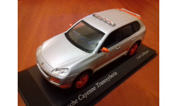 Porsche Cayenne Transsyberia 2007 silver (Minichamps)