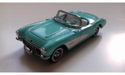 Chevrolet Corvette C1 convertible 1957г. (Matchbox)
