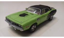 Plymouth Cuda 440 1971г. (Matchbox-Platinum edition)