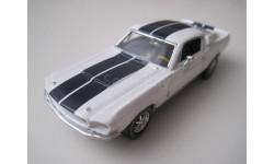Shelby GT350 1967г. (ERTL), масштабная модель, 1:43, 1/43