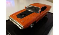 Plymouth GTX 1971г. orange (Hot Wheels), масштабная модель, 1:43, 1/43