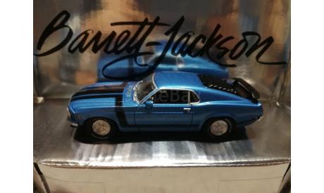 Ford Mustang Boss 302 1970г. (Matchbox-Barrett Jackson), масштабная модель, 1:43, 1/43
