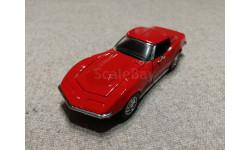 Chevrolet Corvette Stingray T-Top 1/43 1968 (Franklin mint), масштабная модель, scale43