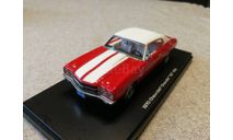 Chevrolet Chevelle SS 454 1970г. (Autoworld - ERTL), масштабная модель, ERTL (Auto World), scale43